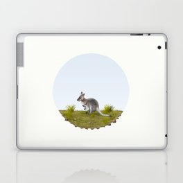 Bennett's wallaby (Macropus rufogriseus) Laptop & iPad Skin