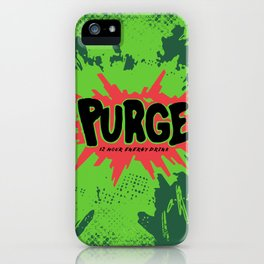 purge iPhone Case