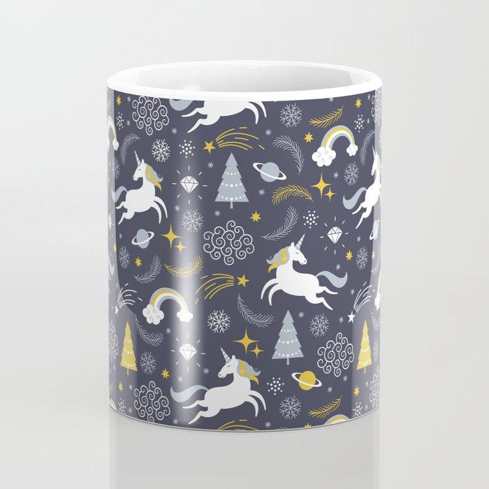 Unicorn Pattern | Mythical Creature Rainbow Horse Coffee Mug