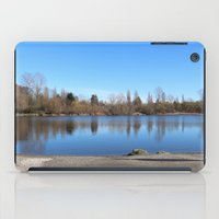 trout iPad Cases featuring Trout Lake by RMK Photography