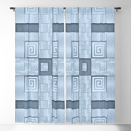 Resolve - A Greek Inspired Seamless Design Blackout Curtain