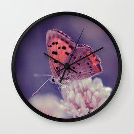 Tiny Beauty Wall Clock