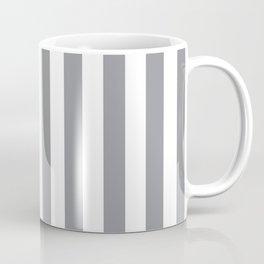 Vertical Grey Stripes Coffee Mug