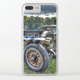 La France Speedster Clear iPhone Case