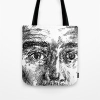 ali Tote Bags featuring Ali by hitit