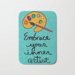 Embrace Your Inner Artist Bath Mat