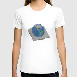 The World in Pages T-shirt