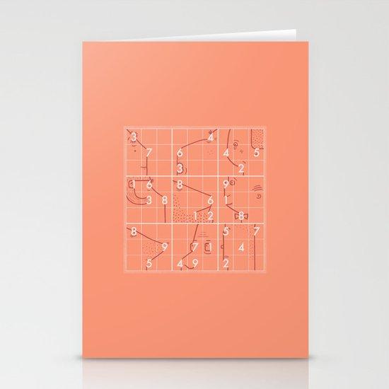 Sudoku! Stationery Cards
