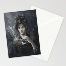 Oisillon (Victorian Lady) Stationery Cards