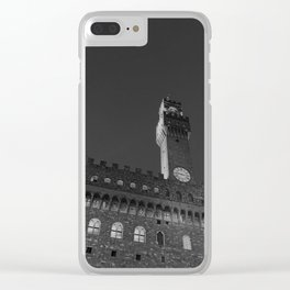 Palazzo Vecchio Clear iPhone Case