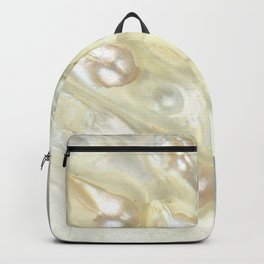 Shimmery Pearly Abalone Shell Backpack