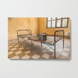 S21 Building B Cell II - Khmer Rouge, Cambodia Metal Print