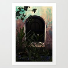 window to where Art Print