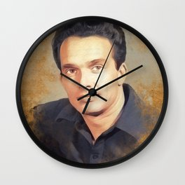 Merle Haggard, Music Legend Wall Clock