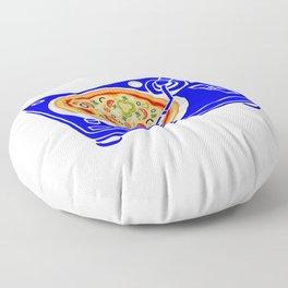 Pizza Scratch Floor Pillow
