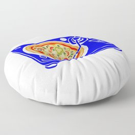 Pizza Scratch Floor Pillow
