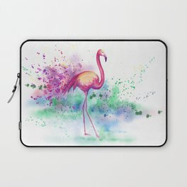 Messy Flamingo Laptop Sleeve