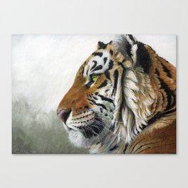 Tiger profile AQ1 Canvas Print
