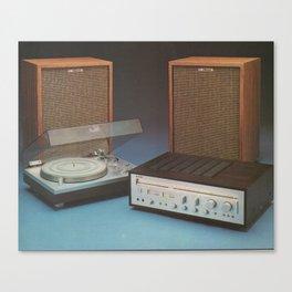 Vintage Speakers 1 Canvas Print