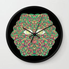 Tree Man Cosmic Serpents Codex Wall Clock