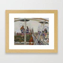 Edinburgh Ferris Wheel Framed Art Print