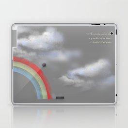 A quarter rainbow Laptop & iPad Skin