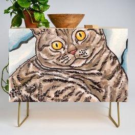 Grey Cat Credenza
