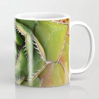 montana Mugs featuring Agave Montana by Awispa