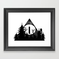 Bill Cipher: I'll Be Watching You Framed Art Print
