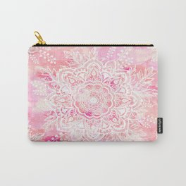 Queen Starring of Mandalas-Rose Carry-All Pouch
