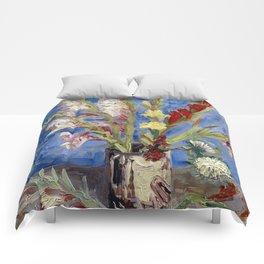 Gladioli Comforters