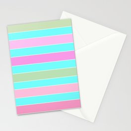 Leela 2 . turquoise Stationery Cards