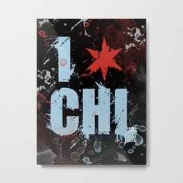 Chicago Love Metal Print