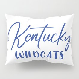Kentucky Wildcats Basketball Pillow Sham