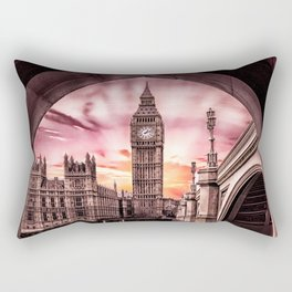 London - Big Ben Rectangular Pillow