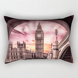London - Big Ben Rectangular Pillow