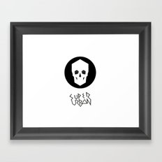 Super Urban Framed Art Print
