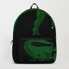 I Hate Dino T-rex Pushups Backpack