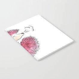 Hedgehog Sneeze Notebook