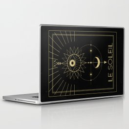 Le Soleil or The Sun Tarot Laptop & iPad Skin