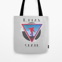 skate Tote Bags featuring Skate by Stefano Messina