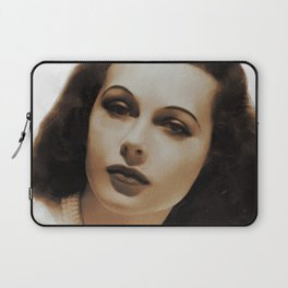Hedy Lamarr, Hollywood Legends Laptop Sleeve