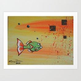 """B Greeny"" Art Print"