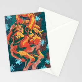 Venus of the Body Farm Laying with Flowers Stationery Cards