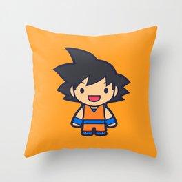 FunSized GoKu Throw Pillow