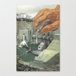 Dying of Thirst Canvas Print