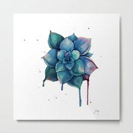 Succulent I Metal Print