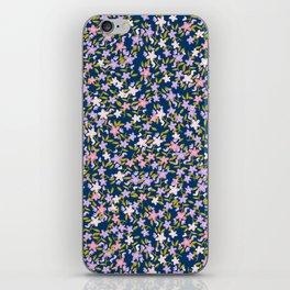Garden Ditzy - Purple iPhone Skin