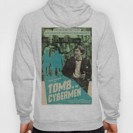 "Doctor Who ""Tomb of the Cybermen"" Retro Movie Poster Hoody"