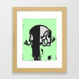 Reversed Reflection Framed Art Print
